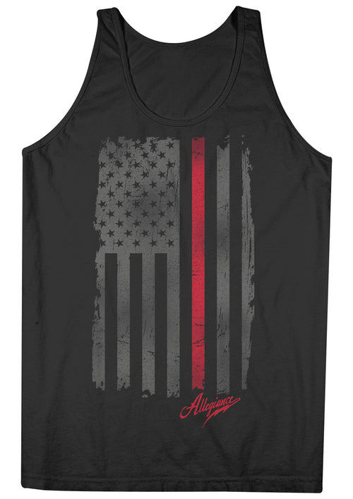 Red Line Tank Top