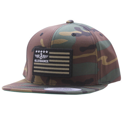 Allegiance Alle. Green Flag Hat