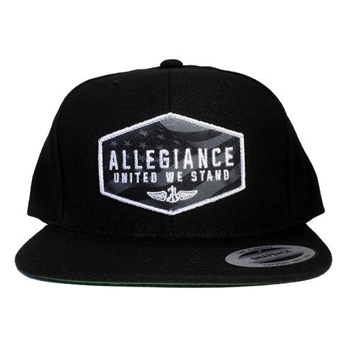 Alle. Glory Stealth Snapback Hat
