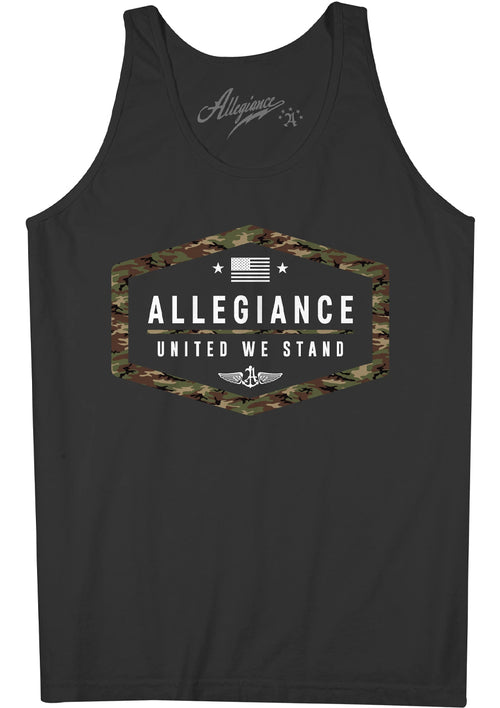 Alle. Camo Republic Tank Top