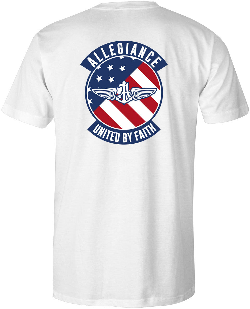Alle. Flag Badge Tee