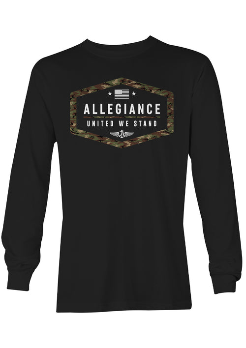 Alle. Camo Republic Long Sleeve Tee