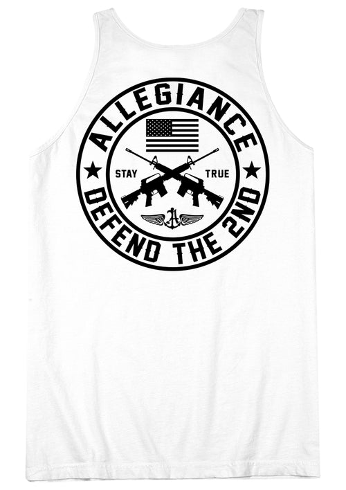 Defend the Second Back Hit Tank Top