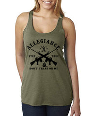 Don't Tread OD GRN Women's Tank