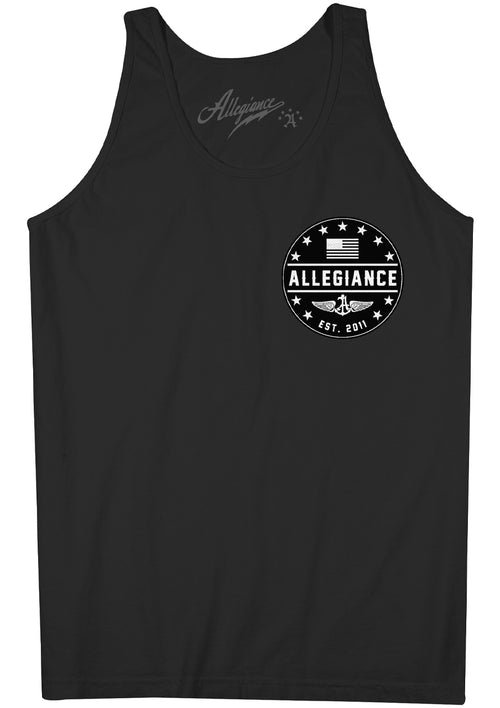 Alle. EST. 11 Back Hit Tank Top