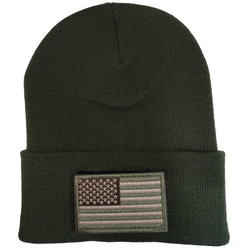 Flag Patch Beanie