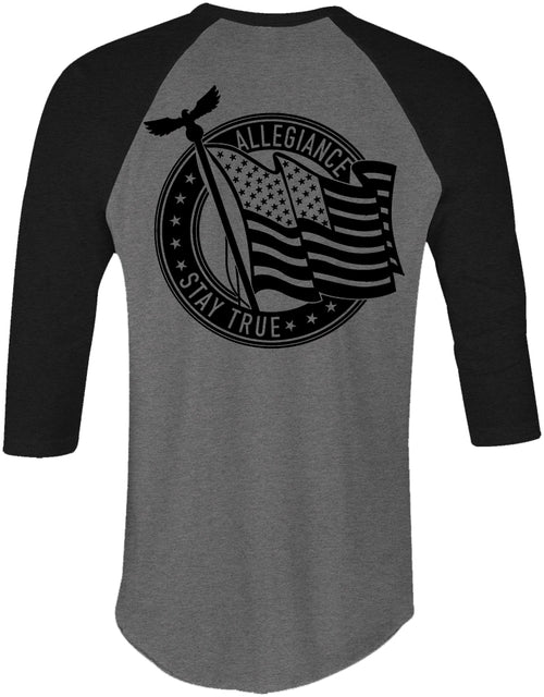 Alle. Pledge Baseball Tee