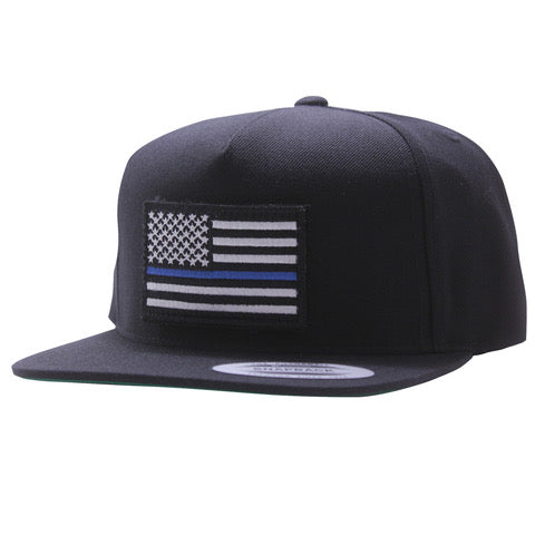 Blue Line Snapback - Allegiance Clothing 51a9d84cd6f