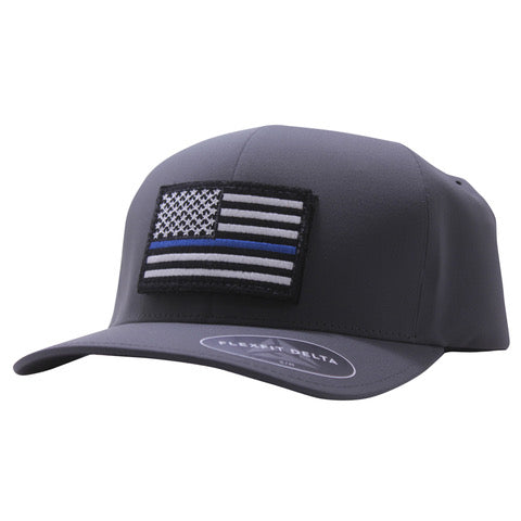 Thin Blue Line Hat Delta FlexFit