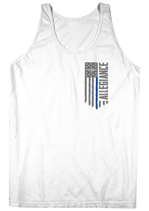 Alle. Freedom Blue Line Tank Top