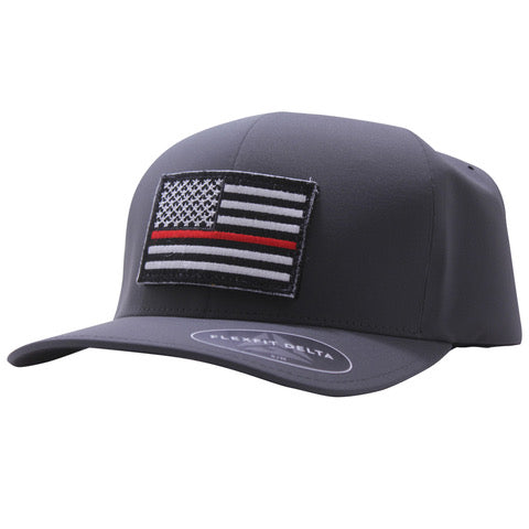 Thin Red Line Hat Delta FlexFit