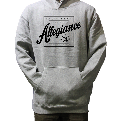 All. Square Hoodie