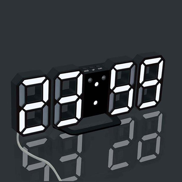 Electronic LED Digital Alarm Clock - CanalSide Cravings