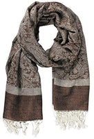 Elegant Vintage Two Color Jacquard Paisley - CanalSide Cravings