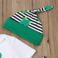 Casual 4Pcs Sets Baby Boy Girl St Patrick's Day - CanalSide Cravings