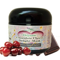 Organic Chocolate Cherry Delight Face Mask - CanalSide Cravings