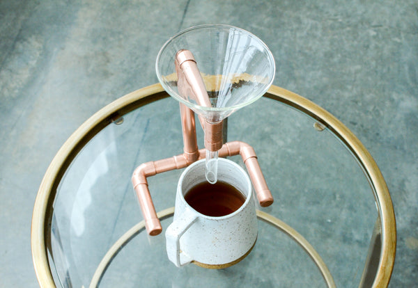 Copper Coffee Pour Over - CanalSide Cravings