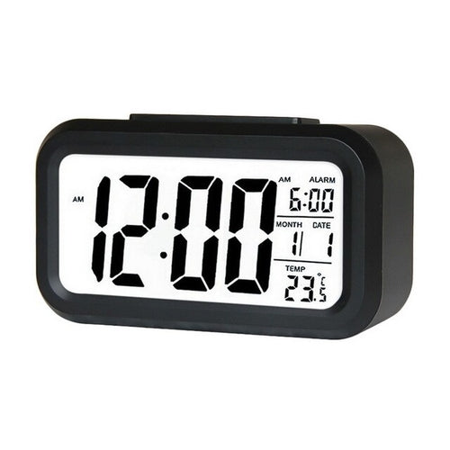 LED Digital Alarm Clock Electronic Smart Mute - CanalSide Cravings