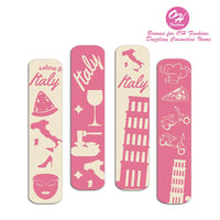 OH Fashion Mini Nail Files SET OF 6 PACKS Rome - CanalSide Cravings
