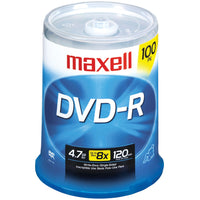 Maxell 4.7gb 120-minute Dvd-rs (100-ct)
