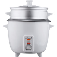 Brentwood Rice Cooker With Steamer (5 Cups 400w)