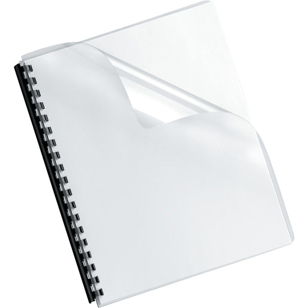 Fellowes Crystals Transparent Pvc Binding Cover Oversized 100pk