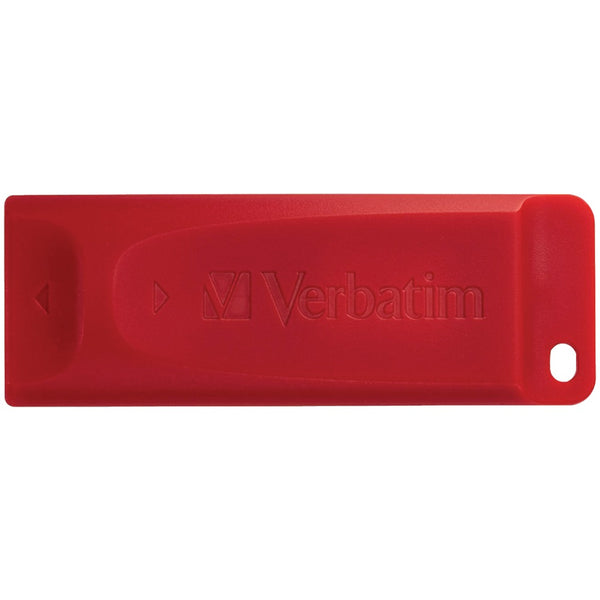 Verbatim Store 'n' Go Usb Flash Drive Red (64b)