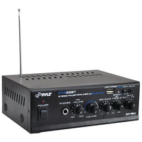 Pyle Pro 40-watt X 2 Mini Blue Series Bluetooth Stereo Power Amp