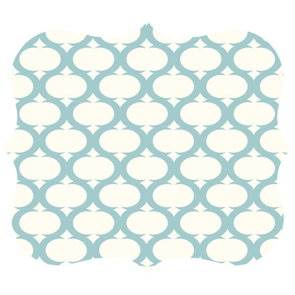 Fellowes Designer Mouse Pad (teal Lattice)