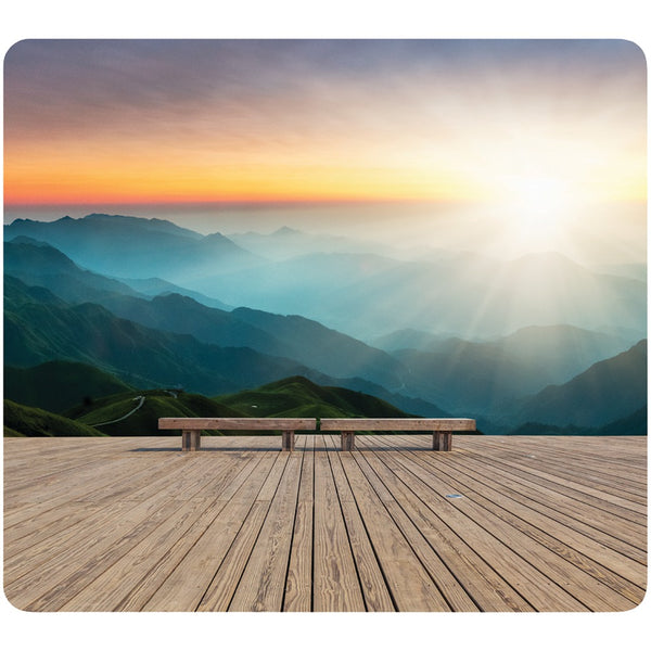Fellowes Recycled Mouse Pad (mountain Sunrise)