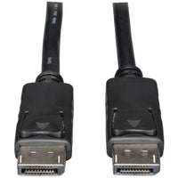 Tripp Lite Displayport To Displayport Cable With Latches 6ft