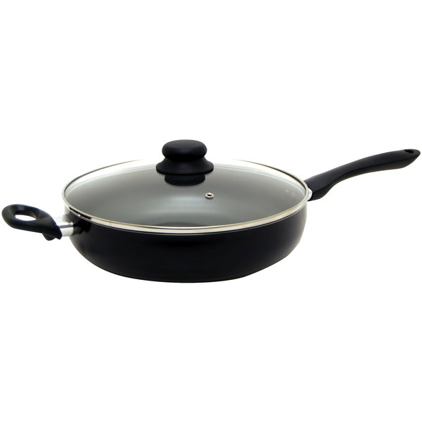 "Starfrit Starbasix 11"" Deep Fry Pan With Lid"