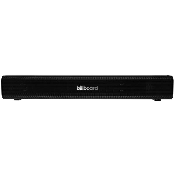 Billboard Bluetooth Mini Sound Bar With Built-in Rechargeable Battery (18 Inch)