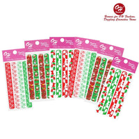 OH Fashion Nail Files Pack Christmas Lover 6 Packs - CanalSide Cravings