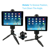 5-12'' Tablet Mount Tripod Stand, Tabletop Pad - CanalSide Cravings