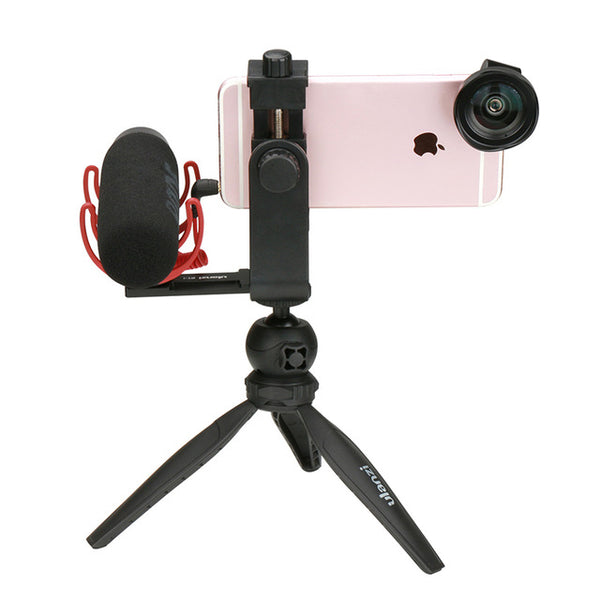 Phone Video Holder Tripod Flexible Vertical - CanalSide Cravings