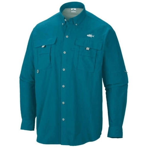 50 UV Azure PFG Button Down - CanalSide Cravings