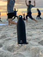 Bevu® Insulated Bottle Black - CanalSide Cravings