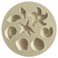 Cake Decoration Tools DIY Sea Creatures Conch Starfish - CanalSide Cravings