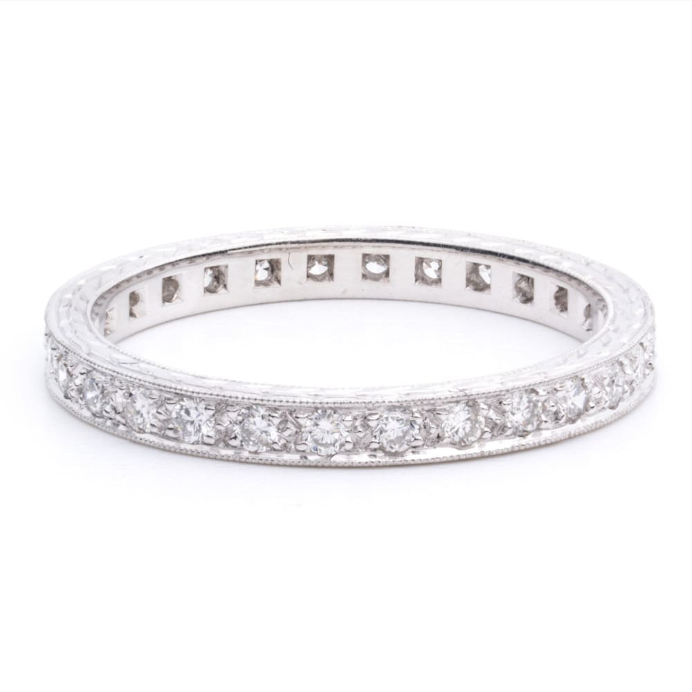 Diamond Bridge - 4 / With Engraving - Golconda Jewelry