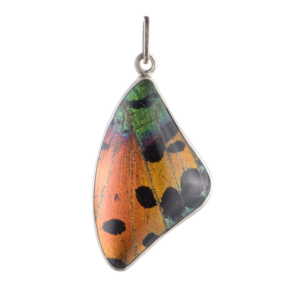Flame Forewing Pendant - Golconda Jewelry
