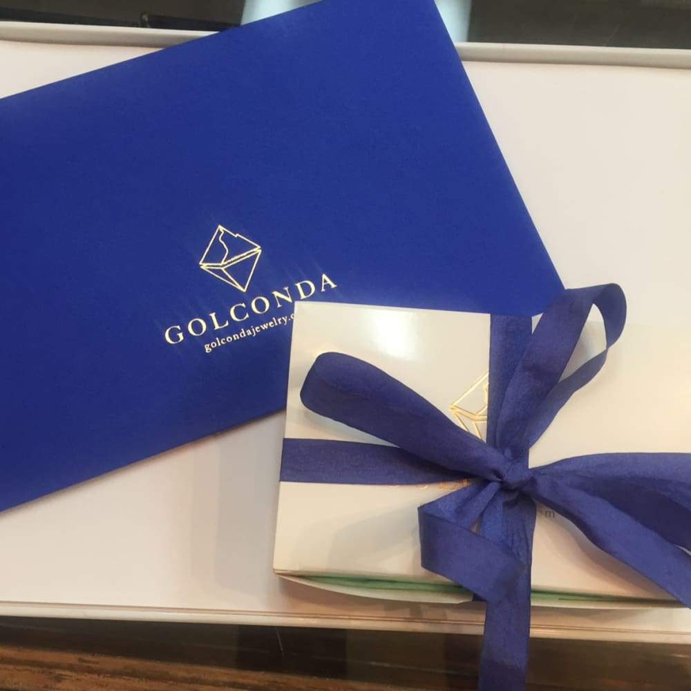 Gift Certificate - Gift Card - Golconda Jewelry