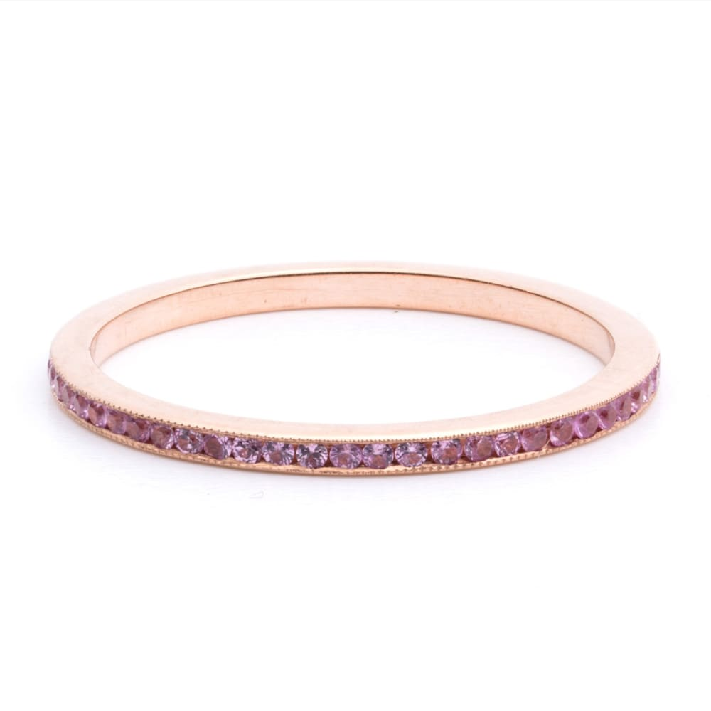 Pink Flame - 4 / With Engraving - Golconda Jewelry