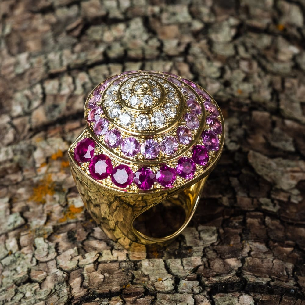 The Marguerite Promise Ring - 7 - Golconda Jewelry