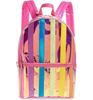 iScream Iridescent Striped Backpack
