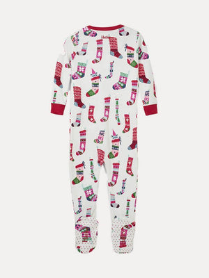 Hatley Footed Holiday Coveralls