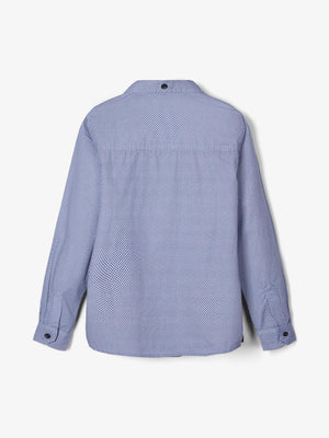 Name It Long Sleeve Collared Top - Ruskie