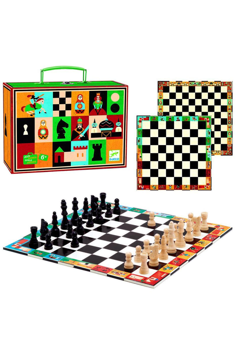 Djeco Chess And Checkers