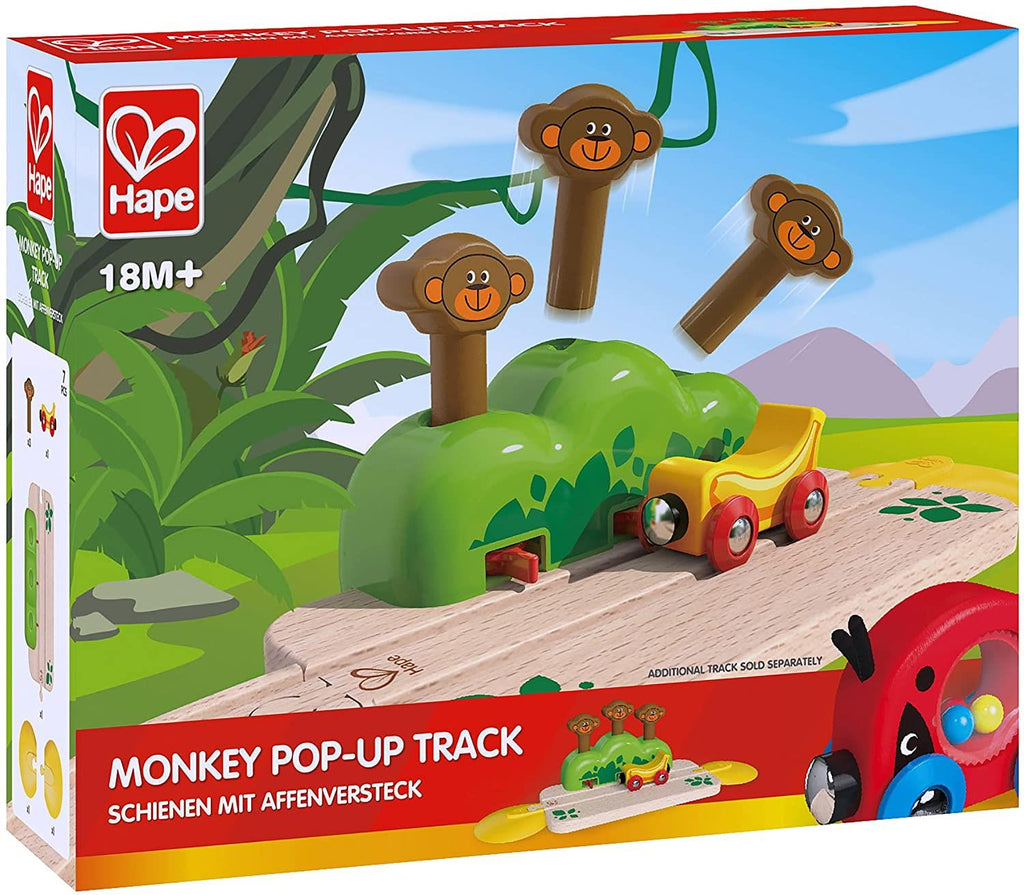 Hape Monkey Pop-Up Track