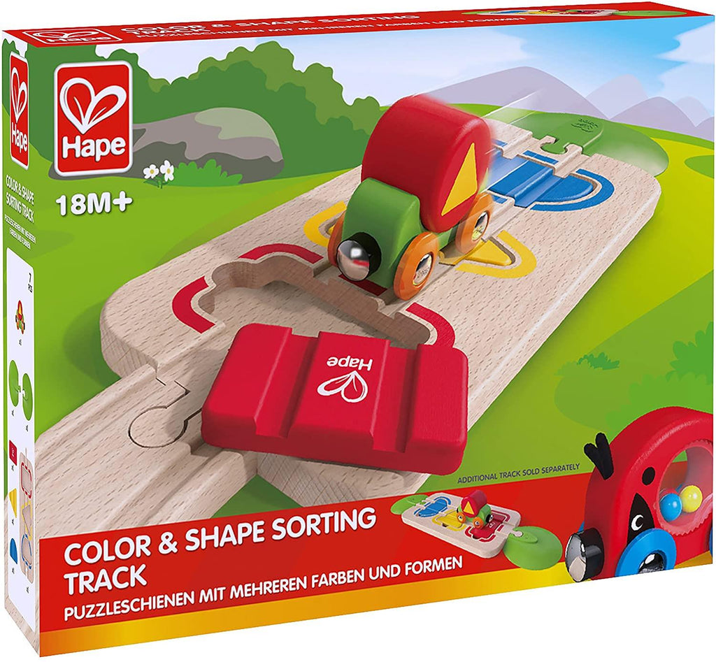 Hape Color & Shape Sorting Track